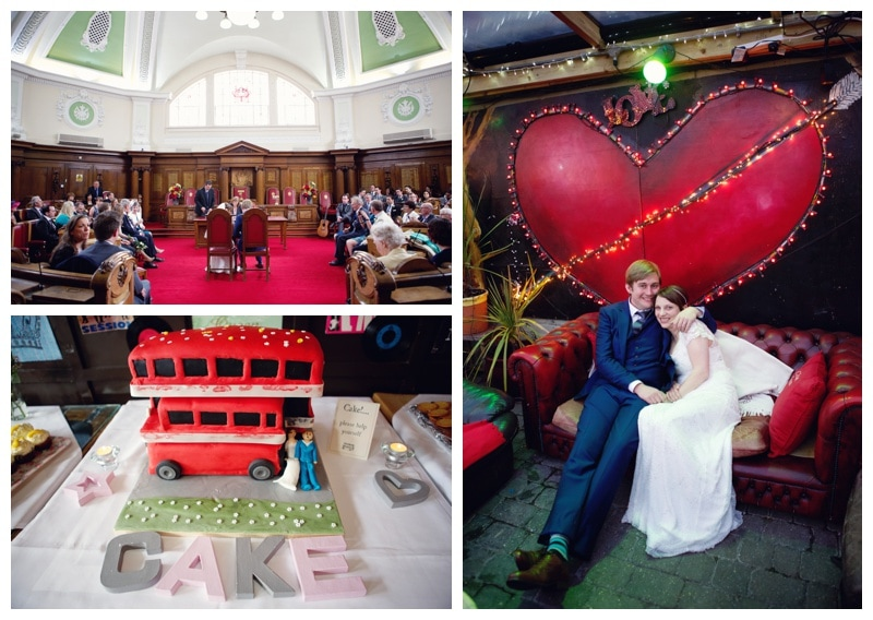 A Rock n' Roll London Wedding at Islington Town Hall & The Clissold Arms {Sharon & Huw}
