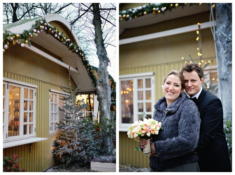 A Winter Wonderland Wedding in Tivoli Gardens Copenhagen