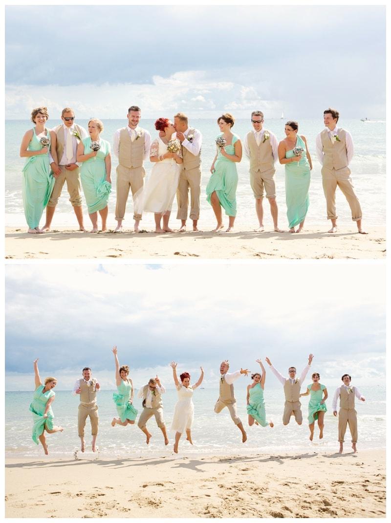 A Relaxed, DIY Bournemouth Beach Wedding at Branksome Dene