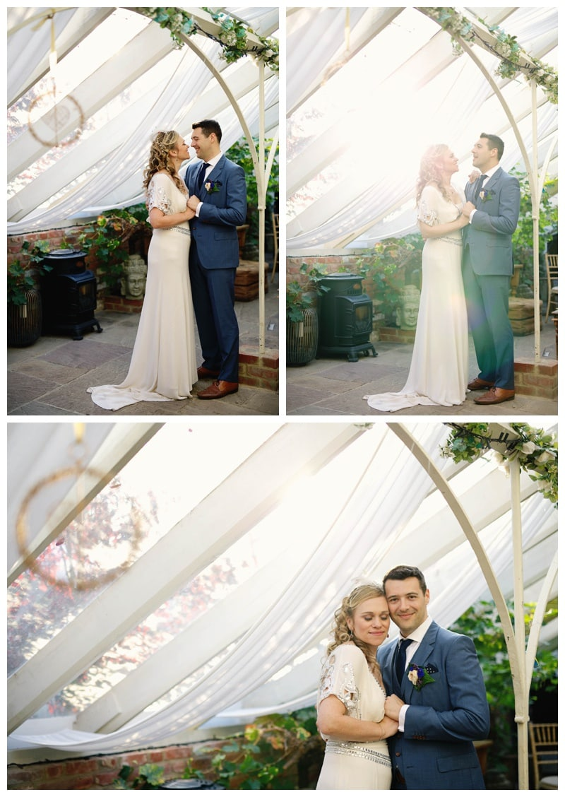 A Rainbow wedding at The Secret Garden Kent   Lydia Stamps