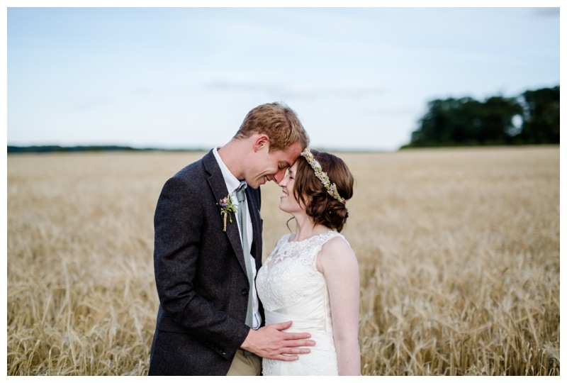 A Quirky & Creative DIY Norfolk Wedding with an outdoor ceremony