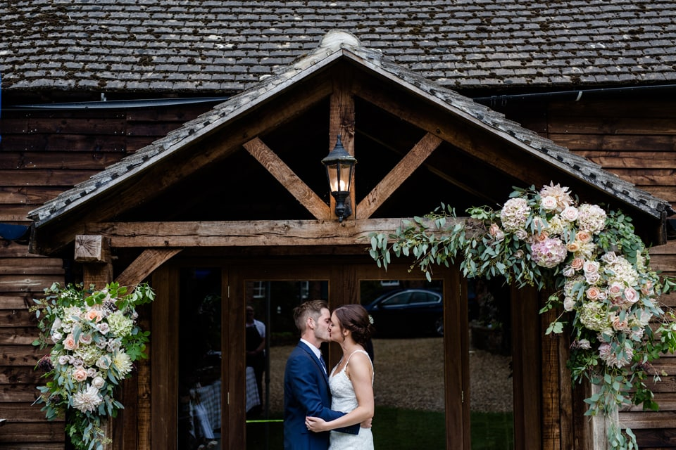 A Detailed & Rustic Wedding at Norman Court Barn Hampshire