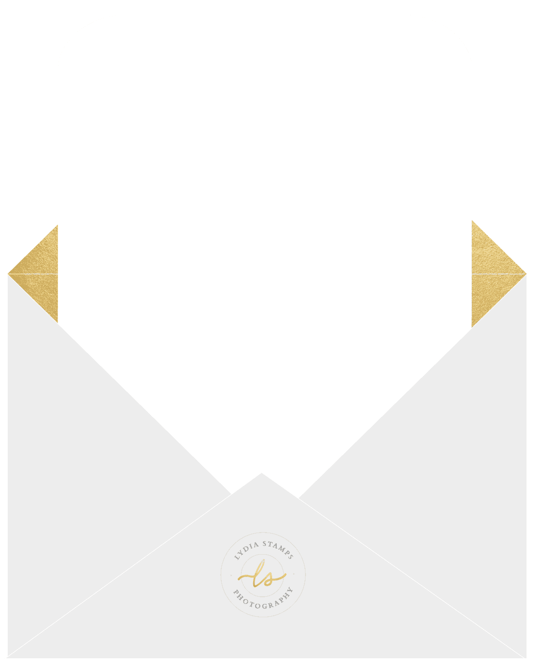 lydia stamps envelope background
