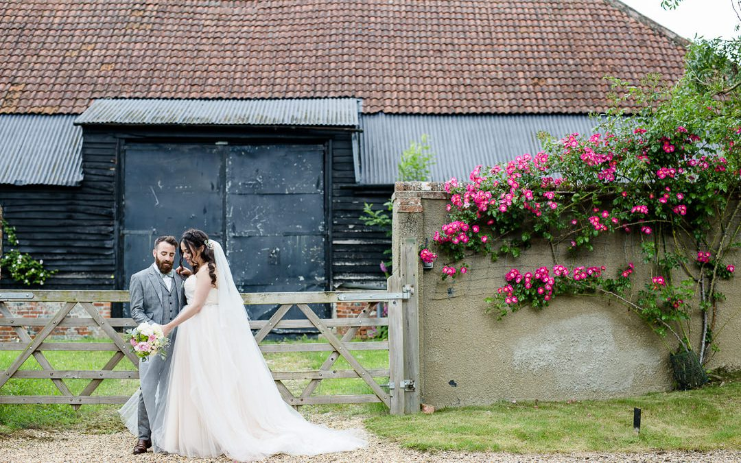 An Enchanted Forest Wedding at Clock Barn for a Hayley Paige Bride