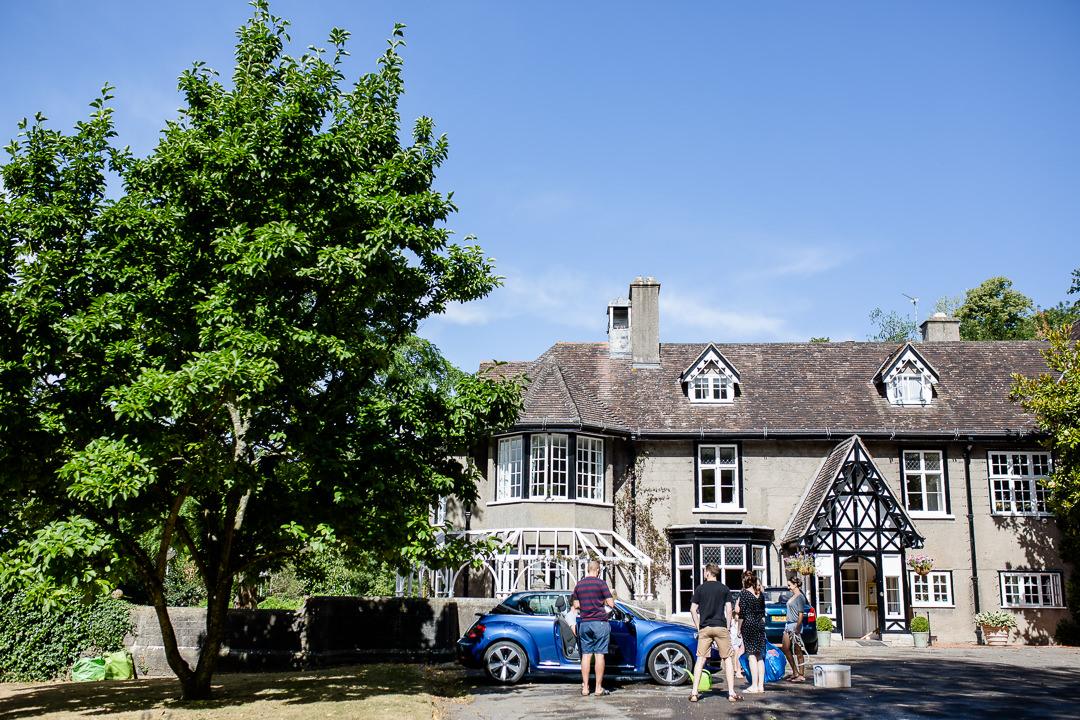 Barley Wood House Exterior Wedding venue near Bristol