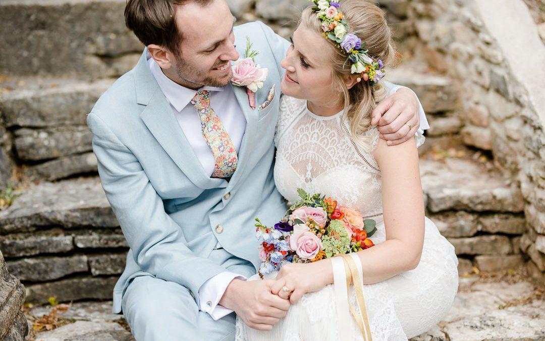 A Colourful, Joy Filled Musical Wedding at Barley Wood
