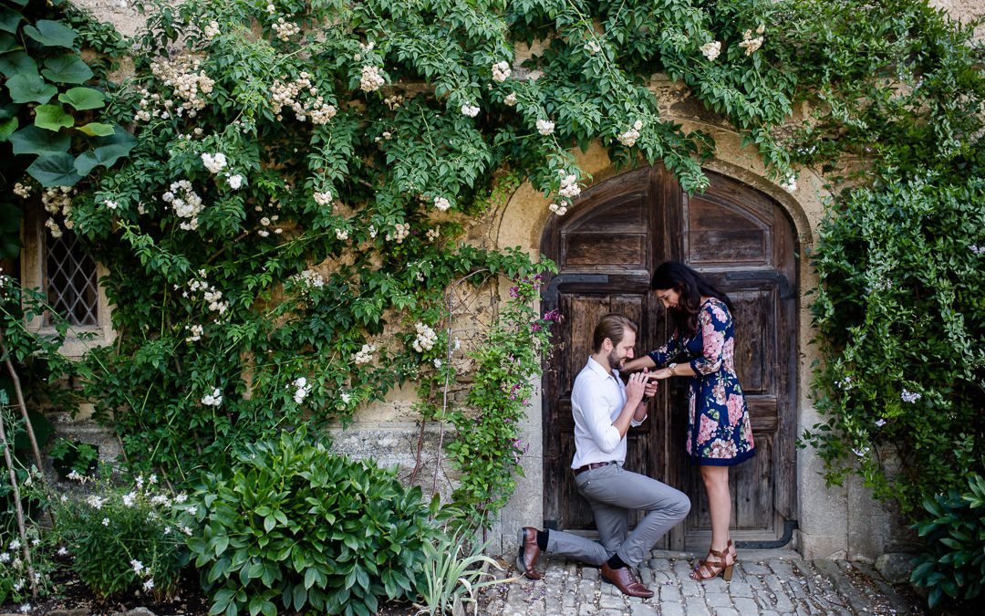 An Emotional Proposal at Lacock Abbey