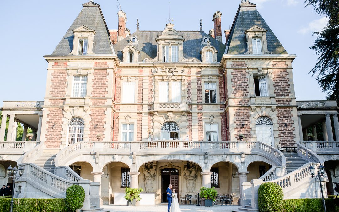An Elegant French Wedding at Chateau Bouffemont