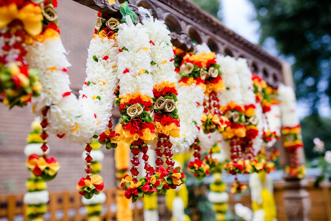 Hindu flower garlands