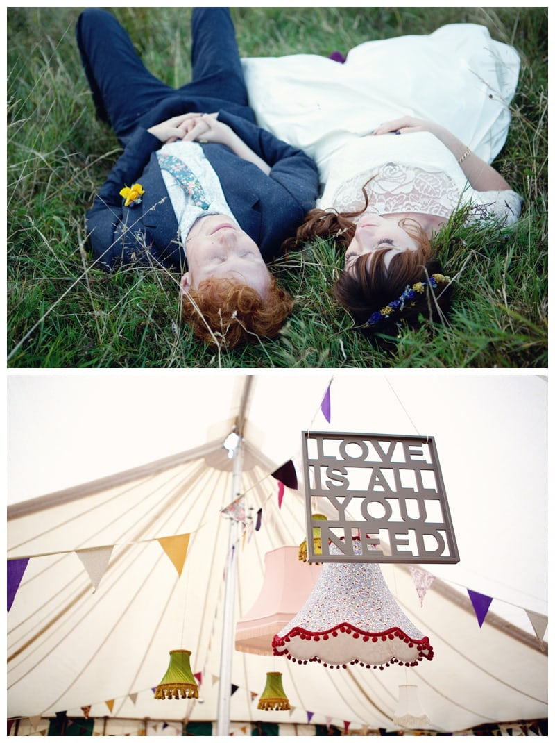 A DIY, Budget friendly Yurt Wedding {Naomi & Glen}