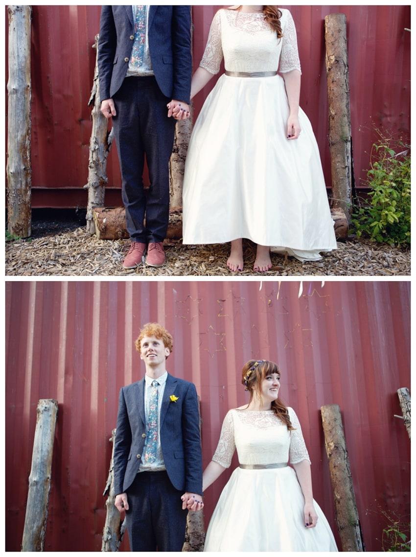 Lydia Stamps Alternative Wedding Photography 0032