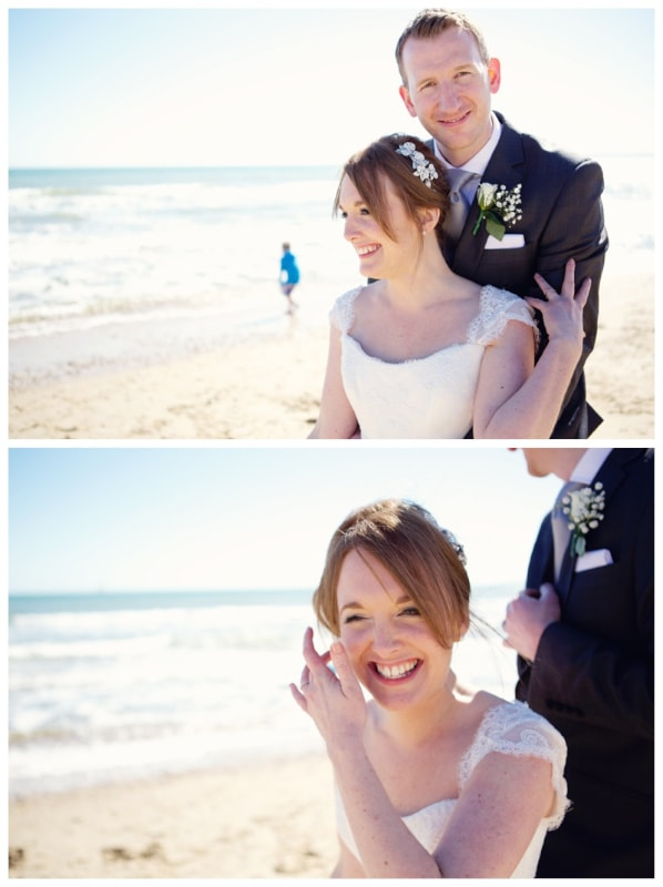Lydia Stamps Photography Bournemouth Beach Wedding 0019