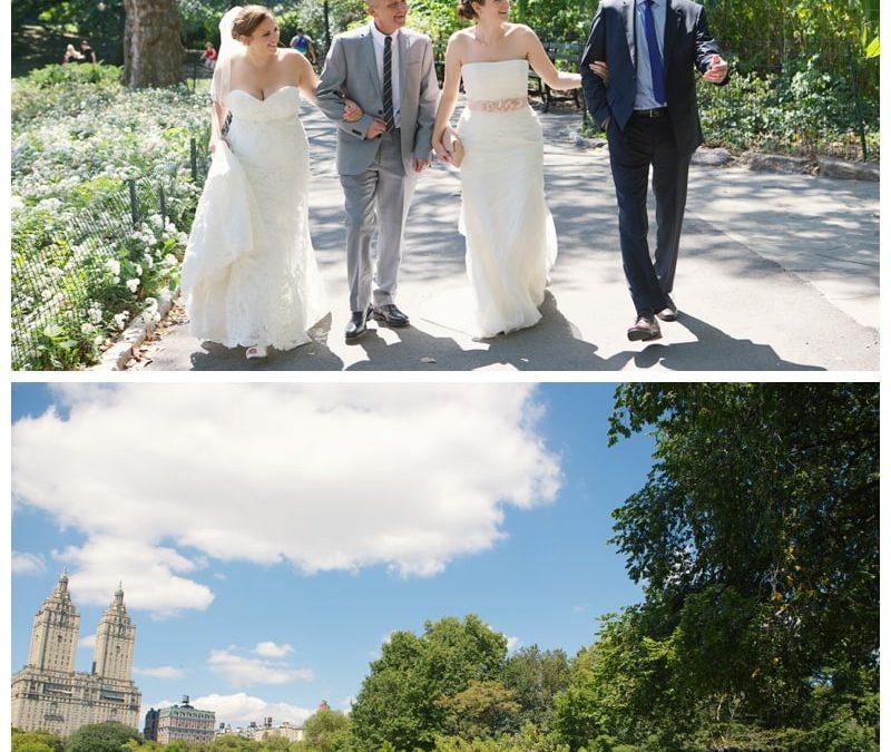 New York! New York! Vanessa & Steff's Destination Wedding