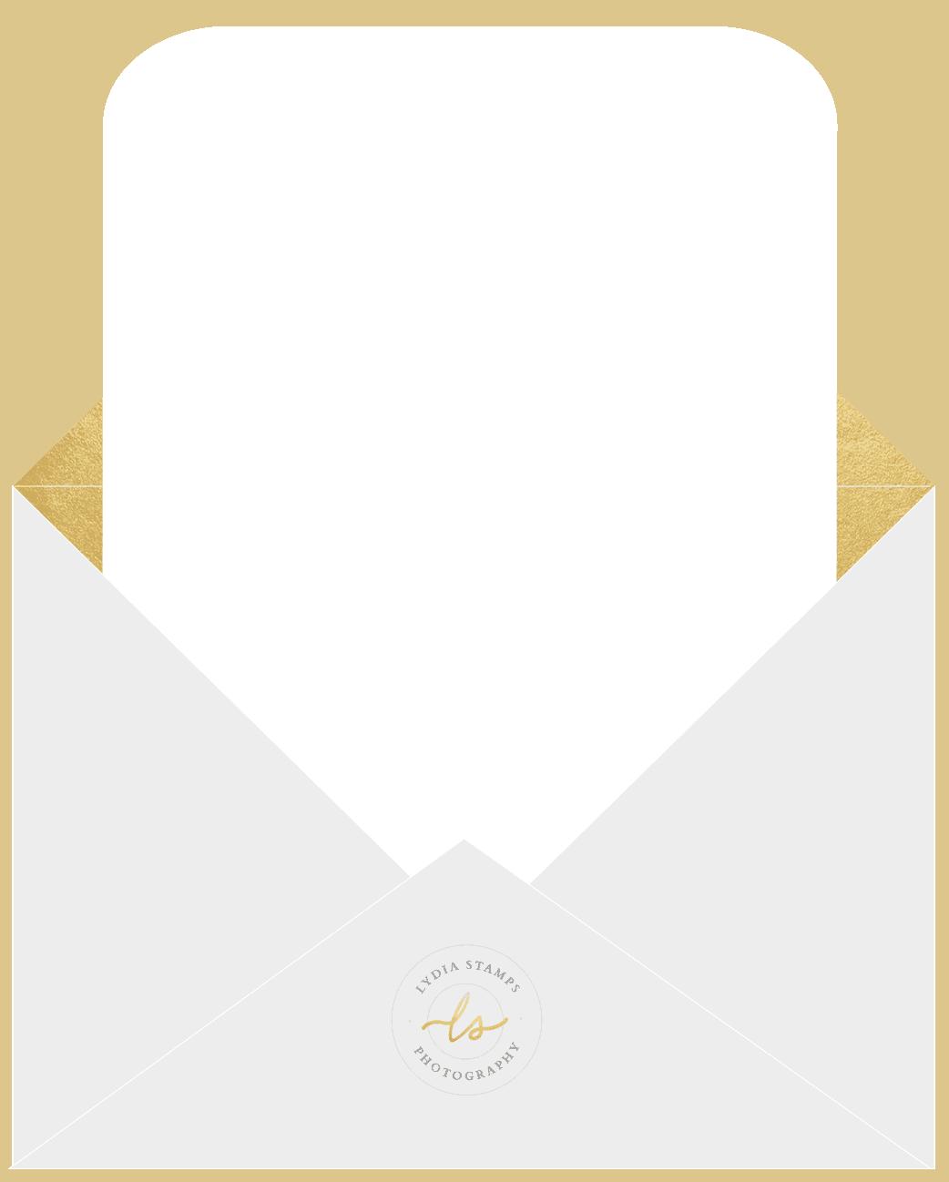 lydia stamps envelope background