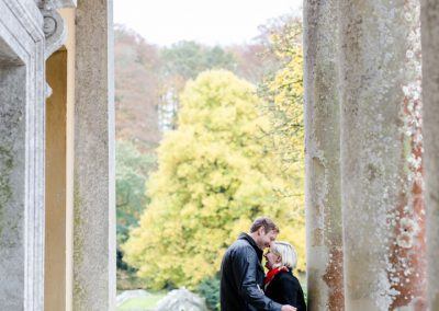 engagement photoshoot at stourhead