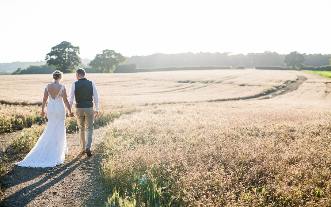 A rustic DIY wedding at The Long Barn Hampshire
