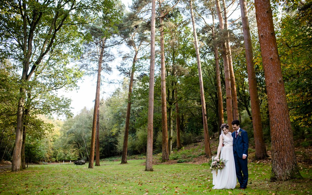 A Musical Rose Gold Autumn Wedding at Cain Manor Hampshire (Previews)
