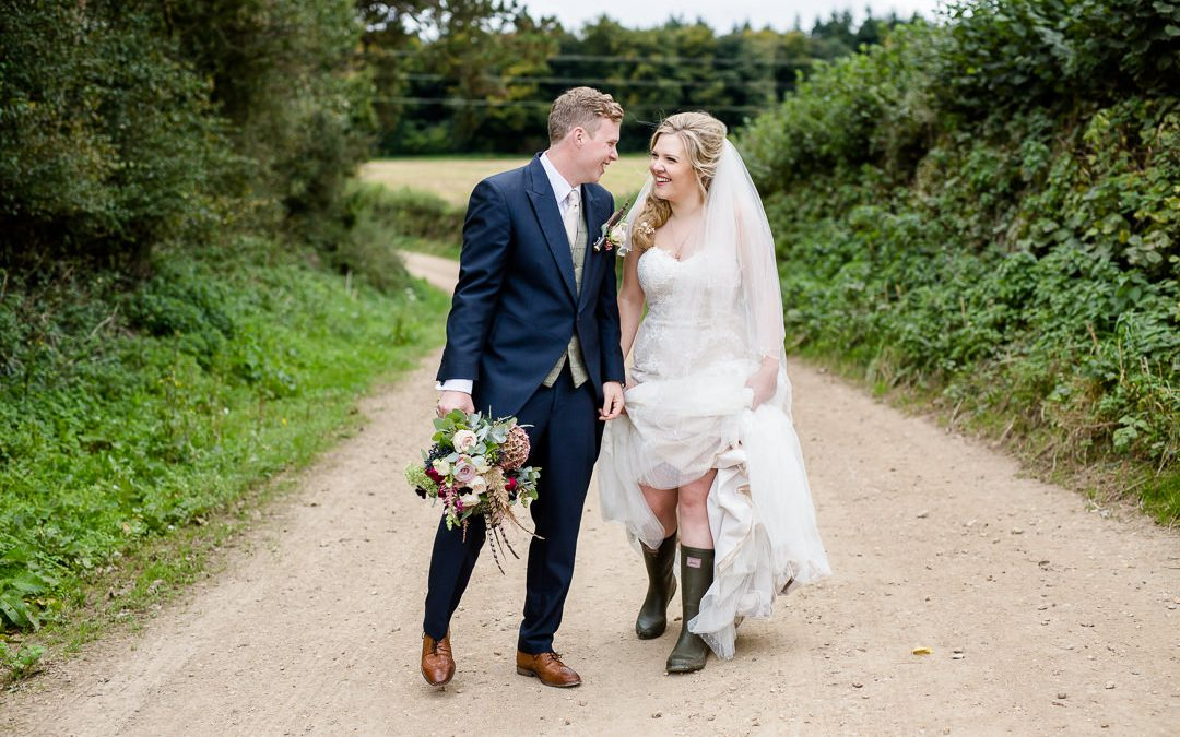 A Countryside Wedding at home on the Farm (Previews)