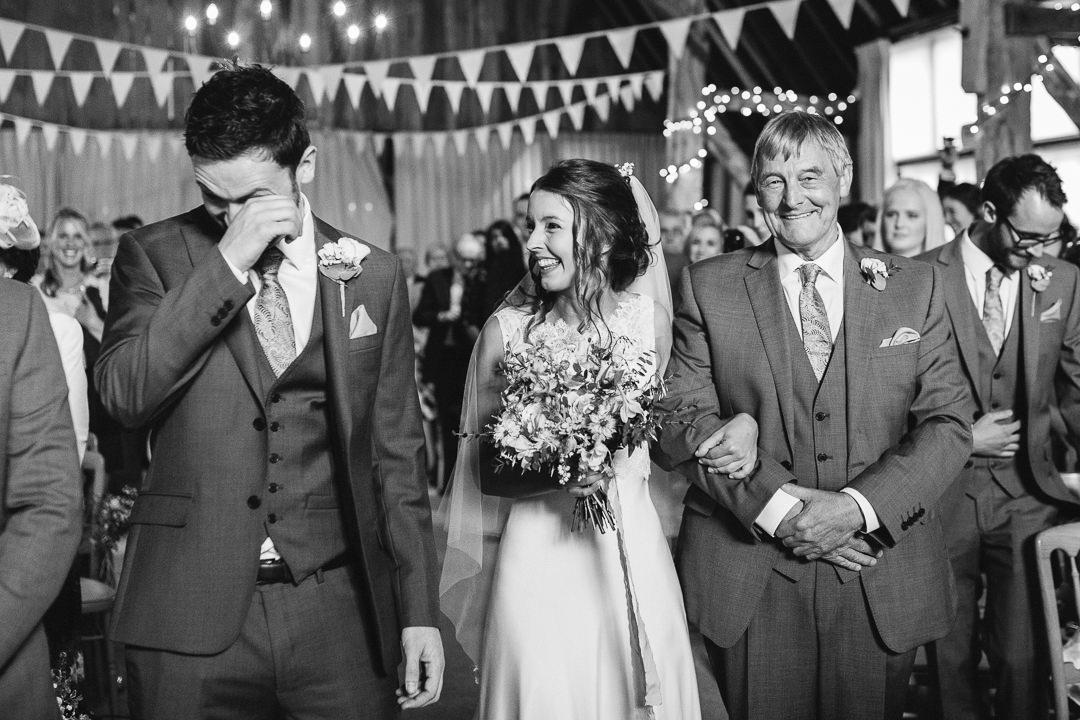 groom crying,