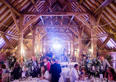 barford park barn during wedding