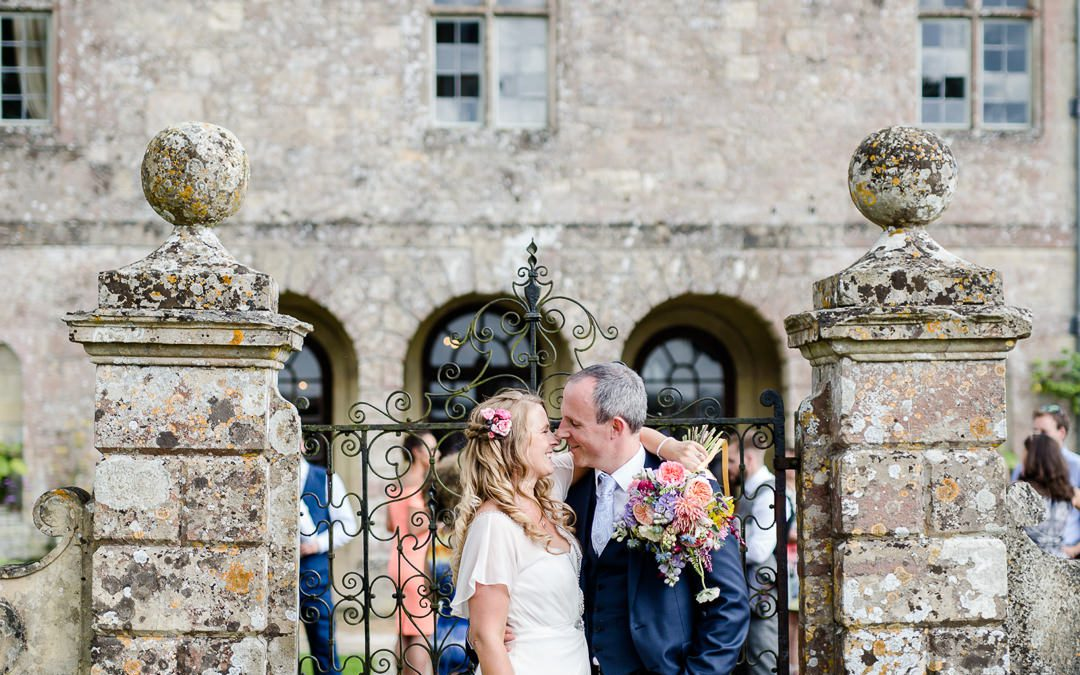 A Colourful Floral Hatch House Wedding