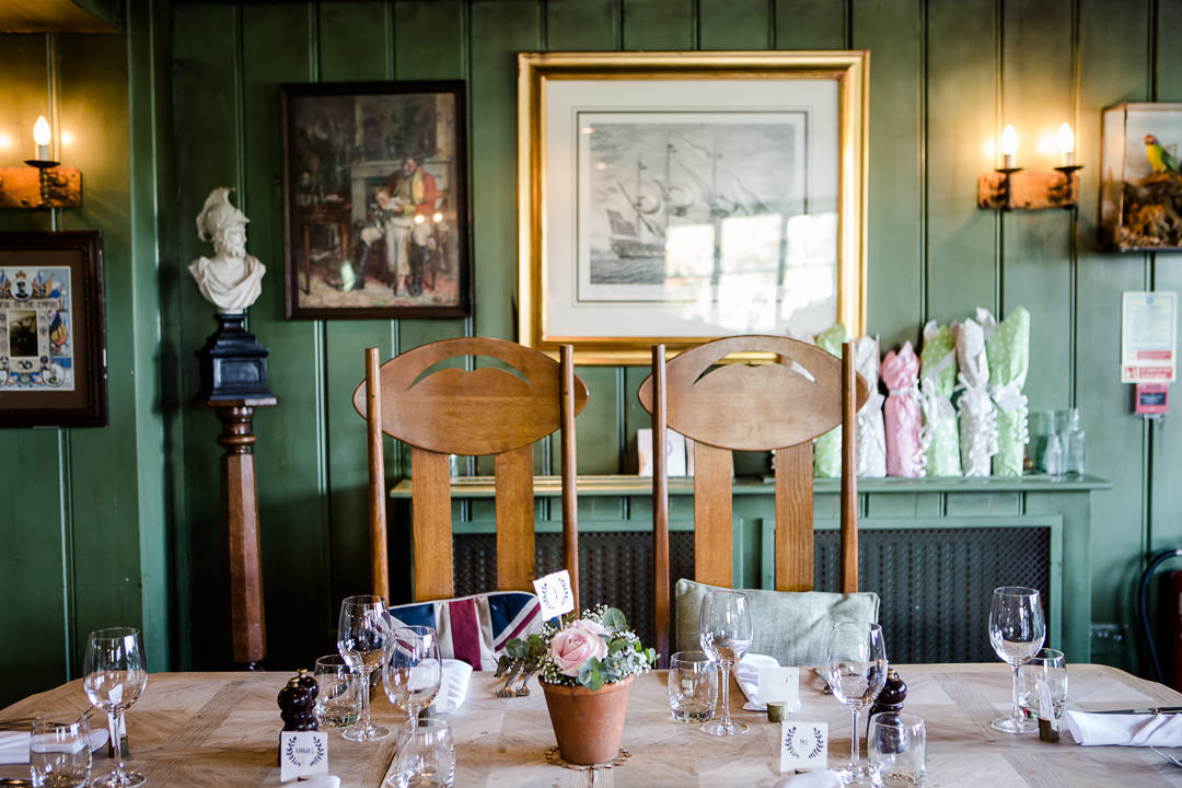 the anchor inn lower froyle high backed chairs in dining room
