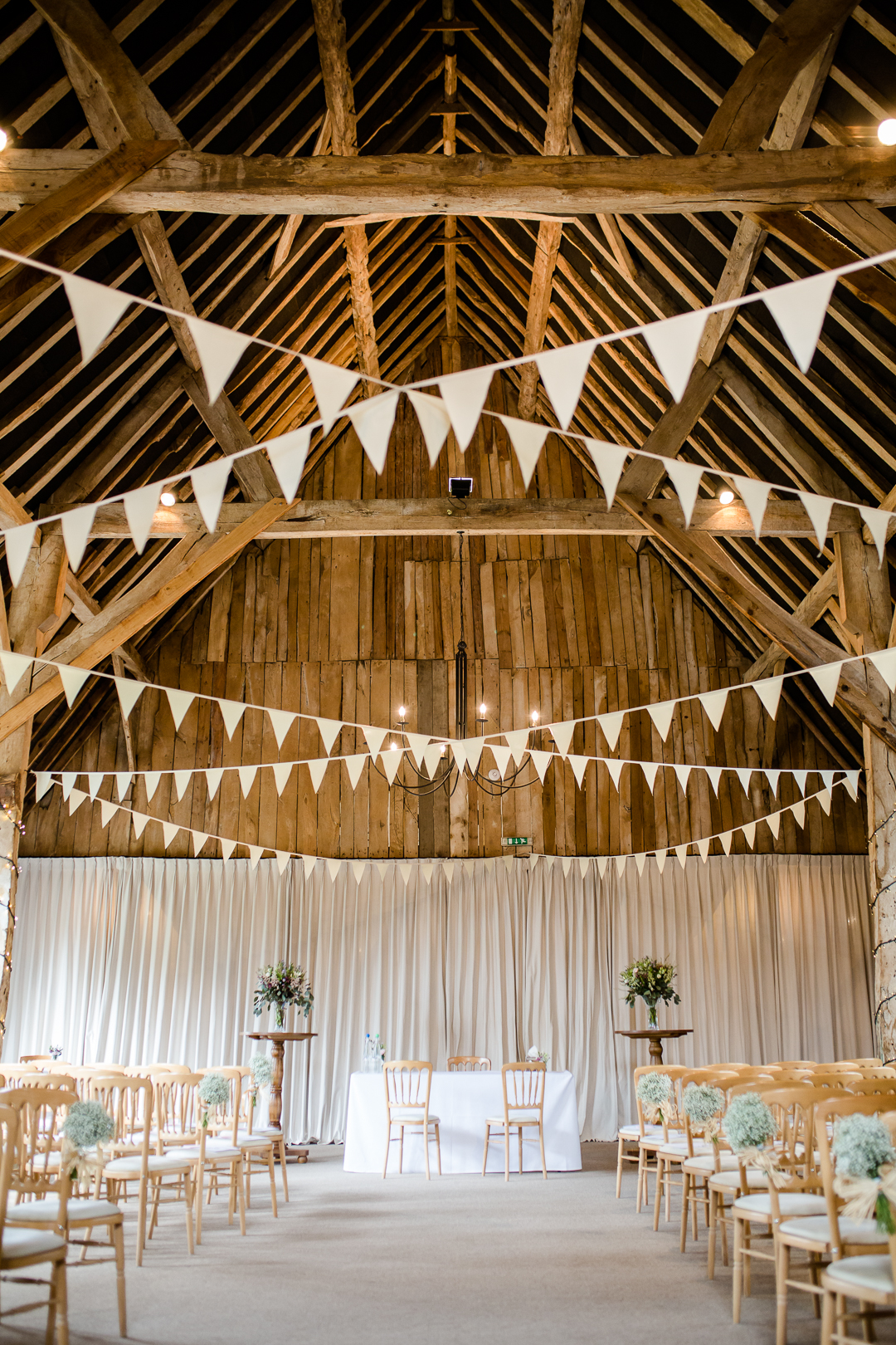 Clock Barn Hampshire set for ceremony