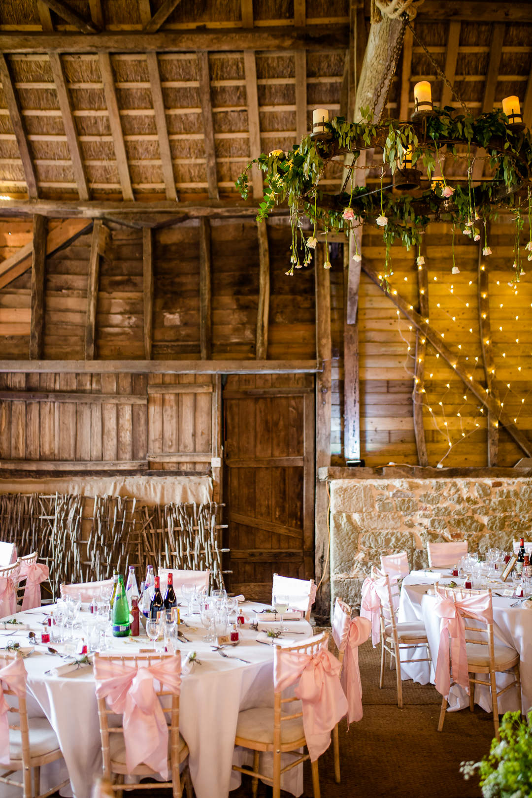 interior of bowerchalke barn near salisbury wiltshire