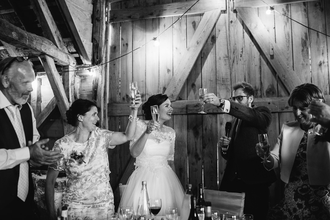 toasts during wedding speeches