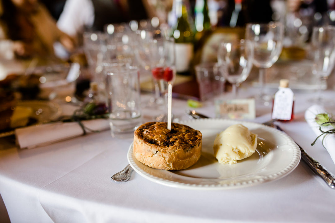pie and mash by the sausage and mash company caterers