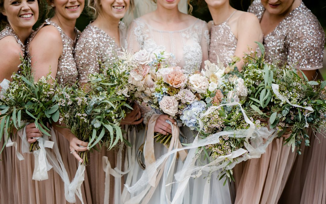 My top Five All time Favourite Wedding Bouquets
