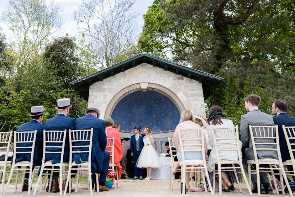 Wedding ceremony at Osborne House Isle of Wight photo by Lydia Stamps Photography