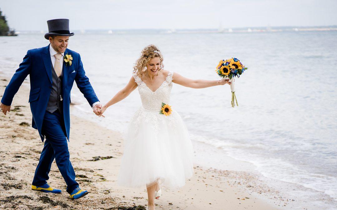An Epic, Jewish, Osborne House Wedding on the Beach