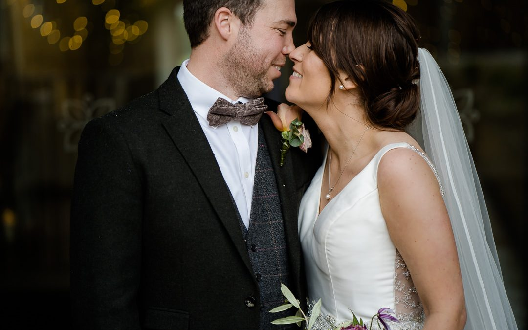 Lockdown Micro Weddings: Sarah & Jake's Intimate Cotswolds Christmas Wedding at Lapstone Barn