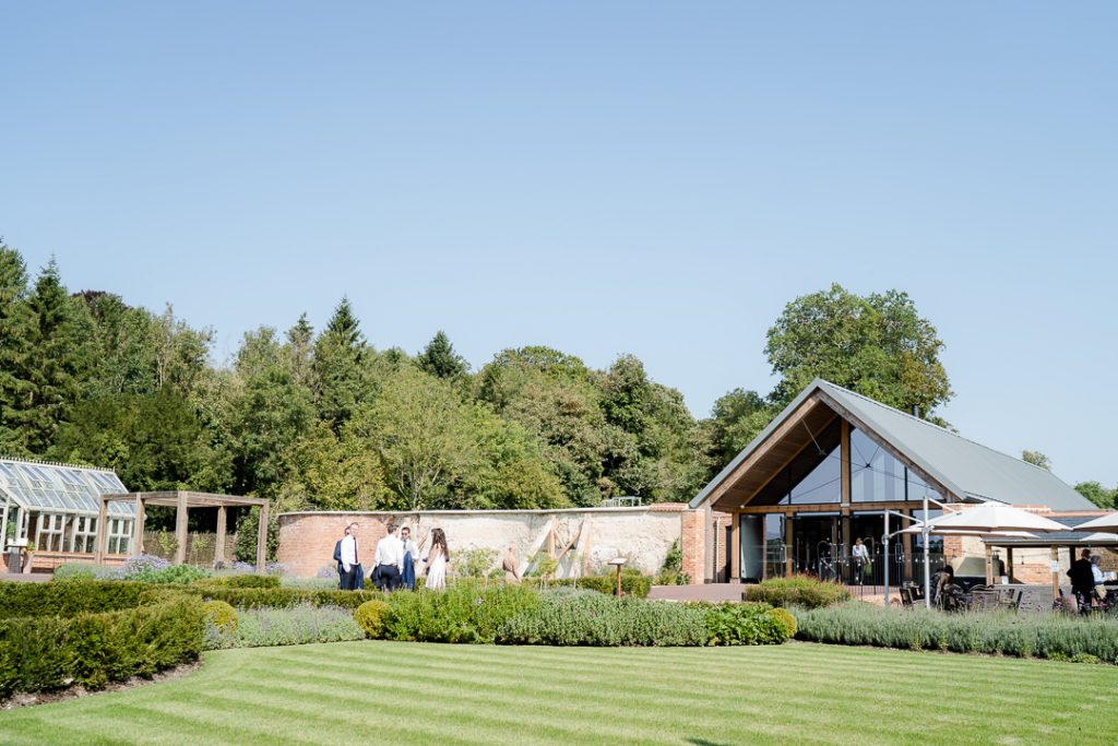 gardens at Syrencot wedding venue near Salisbury Photo by Lydia Stamps Photography