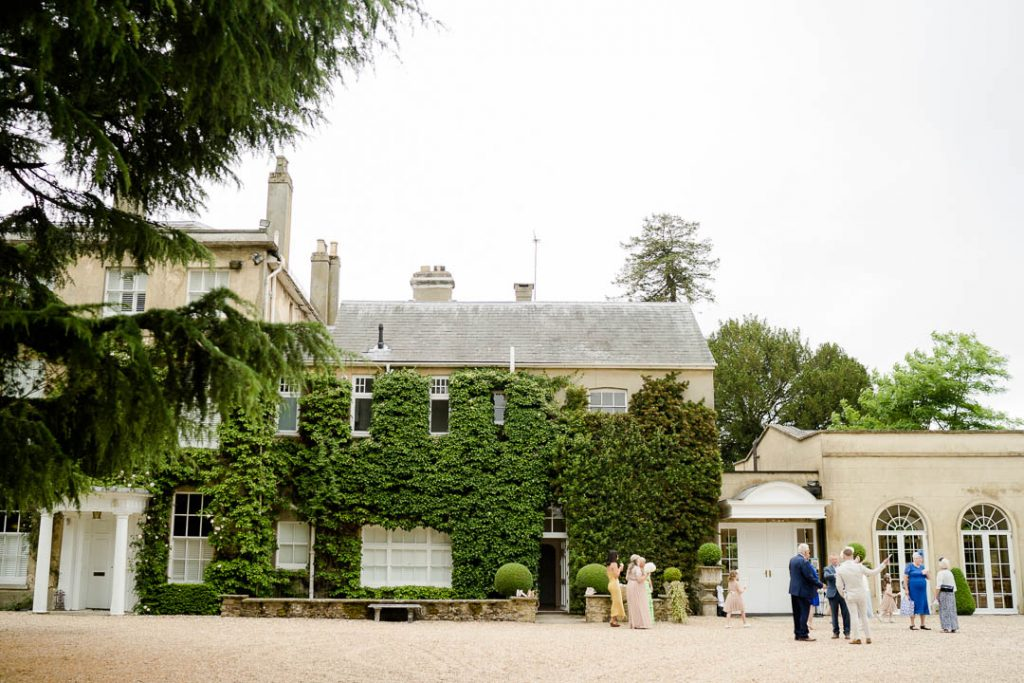exterior of Northbrook Park wedding venue near Farnham Hampshire photo by Lydia Stamps Photography